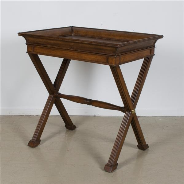 564: A Mahogany Butler's Table, Height 33 5/8 x width 3