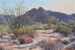 Florence Sackett (American, b. 1927) Treasure Valley