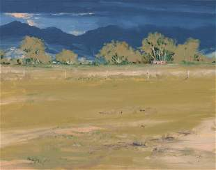 Michael Untiedt (American, b. 1952) Adobe Near San Luis