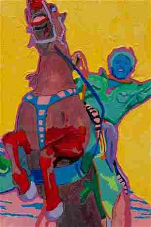 David Parker (American, b. 1958) Mesa Welcome