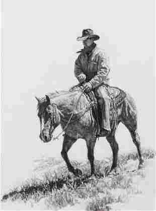 Bill Owen (American, 1942-2013) Cowboy, 1995