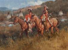 Gary Niblett (American, b. 1943) Beaver Creek