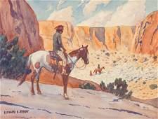 Leonard Howard Reedy (American, 1899-1956) Overlook