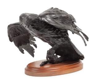 Sandy Scott (American, b. 1943) Kakagi (Raven), edition