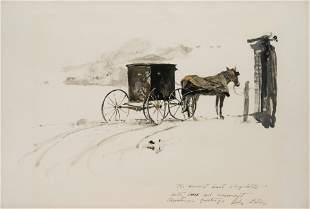Andrew Wyeth (American, 1917-2009) Dutch Country, 1949