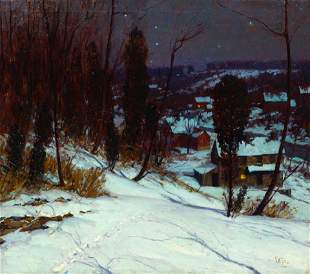 George William Sotter (American, 1879-1953) Winter