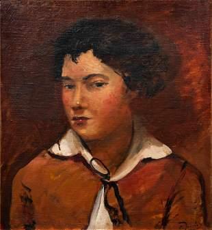 Andre Derain (French, 1880-1954) Buste de jeune garcon