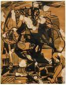 Hans Hofmann (American/German, 1880-1966) Untitled