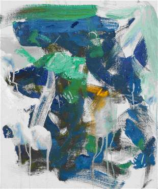 Joan Mitchell (American, 1925-1992) Untitled, 1989