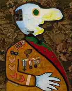 Enrico Baj (Italian, 1924-2003) Le Capitain Chapuis ,