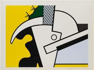 Roy Lichtenstein (American, 1923-1997) Bull Head II