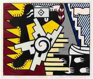 Roy Lichtenstein (American, 1923-1997) American Indian