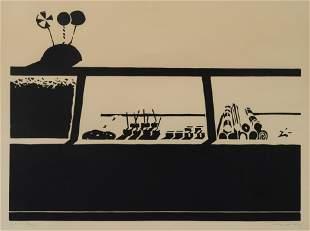 Wayne Thiebaud (American, b. 1920) Candy Counter, 1970