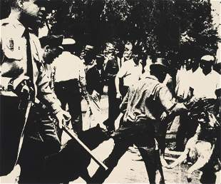 Andy Warhol (American, 1927- Birmingham Race Riot (from