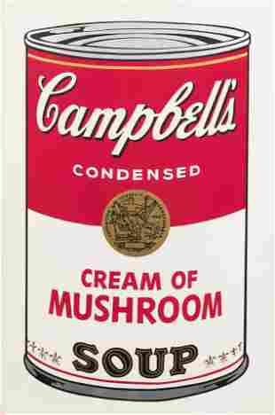 Andy Warhol (American, 1928-1987) Campbell's Soup I: