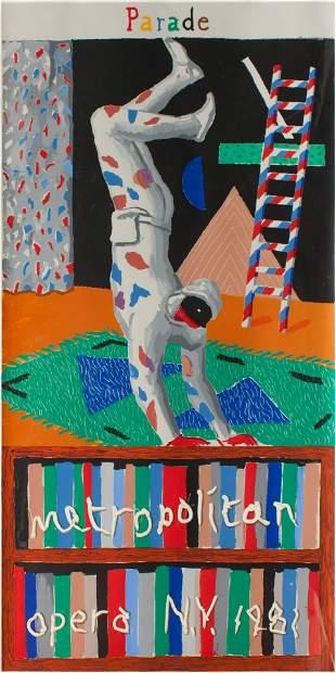 David Hockney (British, b. 1937) Parade (poster for the