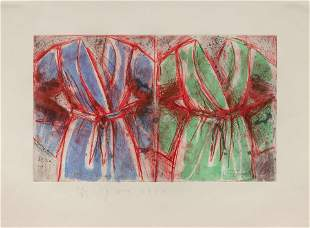Jim Dine (American, B. 1935) Behind the Thicket, 1993