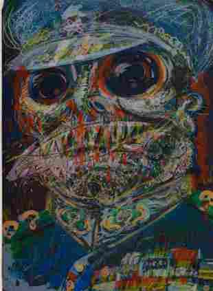 Robert Arneson (American, 1930-1992) The Colonel', 1986