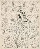 Jim Nutt (American, b. 1938) soft touch me, 1970-71