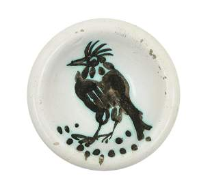 Pablo Picasso (Spanish, 1881-1973) Oiseau a la huppe