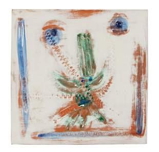 Pablo Picasso (Spanish, 1881-1973) Visage au nez vert