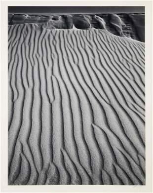 Ansel Adams (American, 1902-1984) Sand Dunes, Oceano,