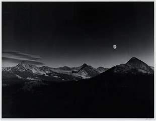 Ansel Adams (American, 1902-1984) Sierra Nevada: Autumn