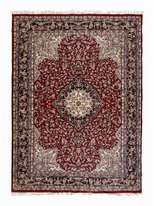 A Tabriz Style Wool Rug