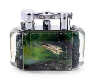 A Dunhill Aquarium Table Lighter