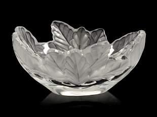 A Lalique Compiegne Bowl