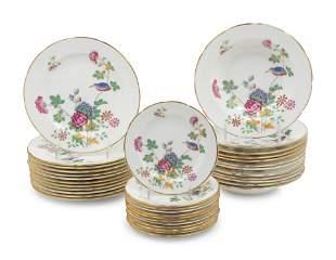 A Group of Wedgwood Cuckoo Porcelain Dinnerware