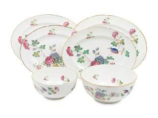 Six Wedgwood Cuckoo Porcelain Serving Articles