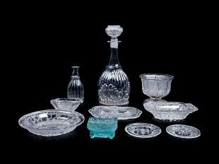 A Collection of Boston & Sandwich Co. and Other Glass