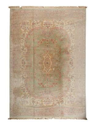 A Kirman Wool Rug