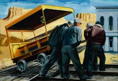Edwin Fulwider (American, 1913-2003) Untitled