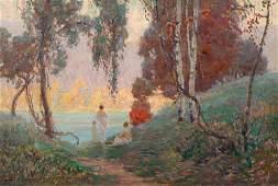 Carl Krafft (American, 1884-1938) The Bathers