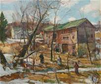 Carl William Peters (American, 1897-1980) Untitled