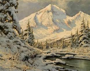 Laszlo Neogrady (Hungarian, 1896-1962) Snow Covered