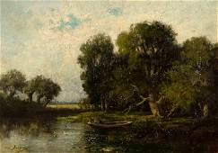 Charles-Emile Jacque (French, 1813-1894) Barbizon