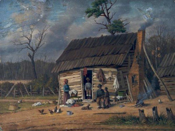 1: William Aiken Walker, (American, 1838-1921), Washday