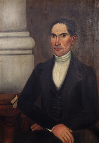 6: Manner of Sheldon Peck, (American, 1797-1868), Portr