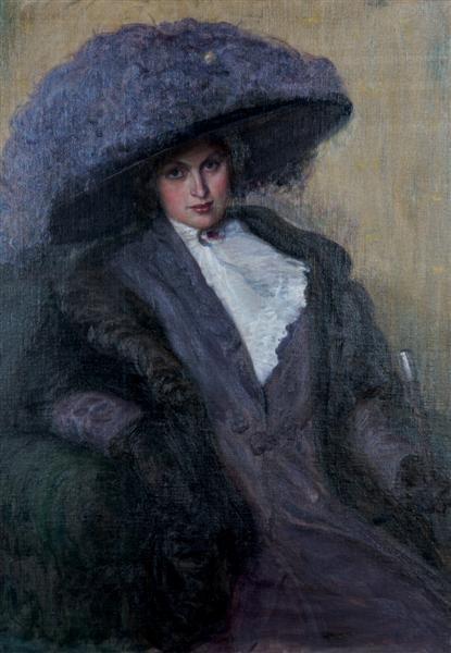 11: Louis Mayer, (American, 1869-1969), Portrait of a W