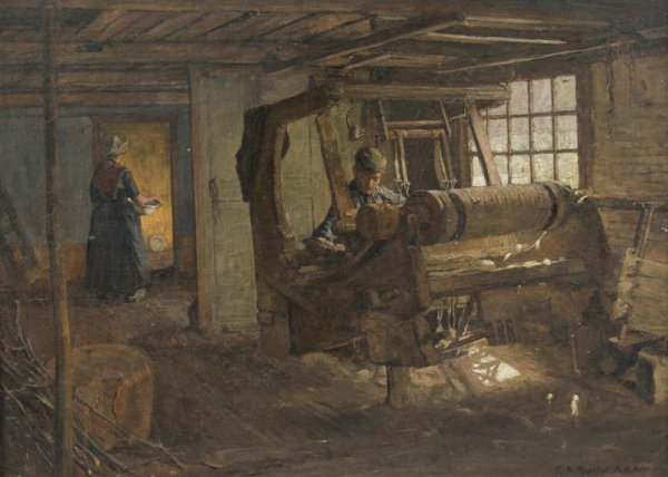 16: Karl Albert Buehr, (American, 1866-1952), Interior