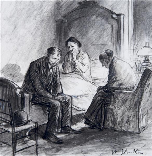 17: William Glackens, (American, 1870-1938), Illustrati