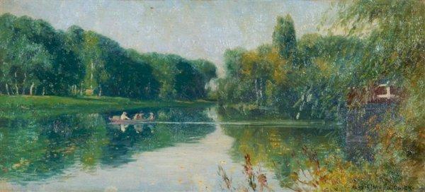 18: Alexis Jean Fournier, (American, 1865-1948), Mornin