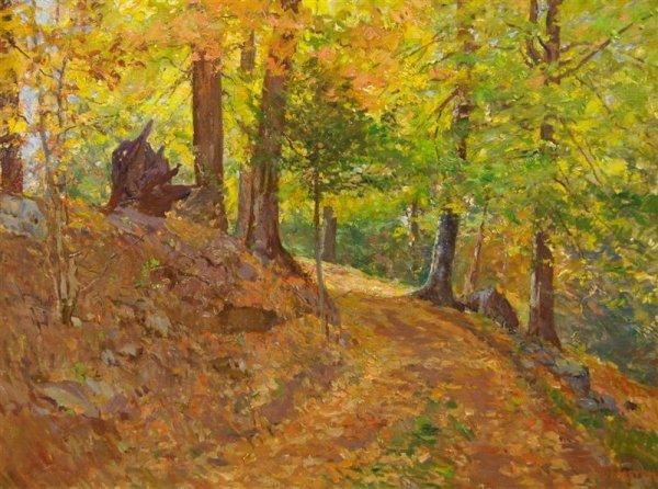 19: William J. Forsyth, (American, 1854-1935), Autumn S