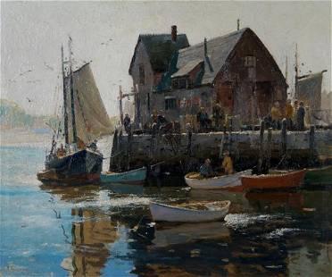 33: Anthony Thieme, (American, 1888-1954), New England