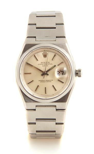 2: A Stainless Steel Oyster Perpetual Style 1530 Wristw