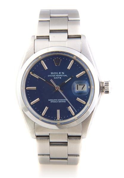 3: A Stainless Steel Oyster Perpetual Wristwatch, Rolex
