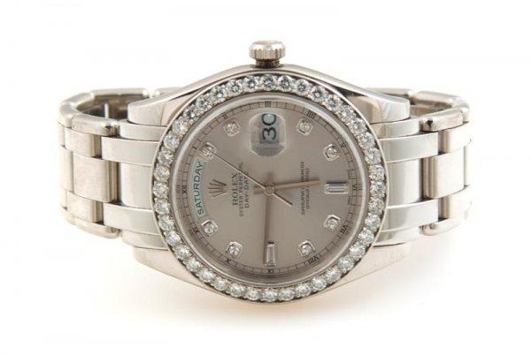 11: A Platinum and Diamond Presidential Wristwatch, Rol